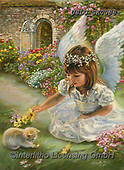 CHILDREN, KINDER, NIÑOS, paintings+++++,USLGSK0088,#K#, EVERYDAY ,Sandra Kock, victorian ,angels