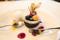 Chocolat cake at the Osteria Oliva Nera, in Venice.<br /> UPDATE IMAGES PRESS/Riccardo De Luca