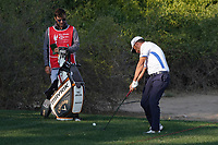 Pablo Larrazabal (ESP) on the 10th during the Pro-Am of the Abu Dhabi HSBC Championship 2020 at the Abu Dhabi Golf Club, Abu Dhabi, United Arab Emirates. 15/01/2020<br /> Picture: Golffile | Thos Caffrey<br /> <br /> <br /> All photo usage must carry mandatory copyright credit (© Golffile | Thos Caffrey)