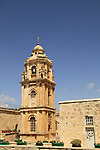Israel, Jerusalem, the bell tower of the Greek Orthodox Monastery of the Holy Cross