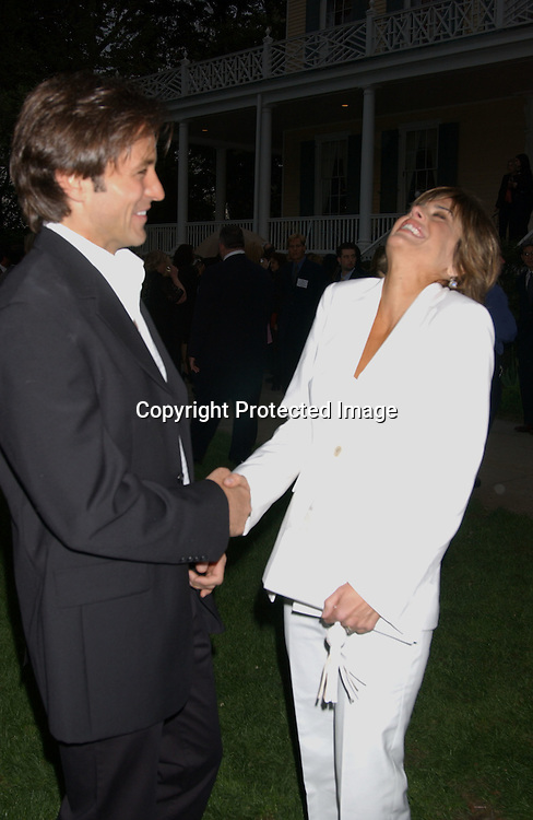 Ty Treadway & Lisa Rinna                              ..at Gracie Mansion for the Daytime Emmys party on May 15,2003 in NYC...Photo by Robin Platzer, Twin Images