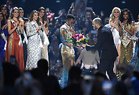 ATLANTA, GA - DECEMBER 8: 2019 MISS UNIVERSE: Miss South Africa, Zozibini Tunzi  is crowned the new Miss Universe on the 2019 MISS UNIVERSE competition airing LIVE on Sunday, Dec. 8 (7:00-10:00 PM ET live/PT tape-delayed) on FOX. (Photo by Frank Micelotta/FOX/PictureGroup)