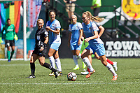Portland, OR - Saturday August 05, 2017: Cami Privett during a regular season National Women's Soccer League (NWSL) match between the Portland Thorns FC and the Houston Dash at Providence Park.