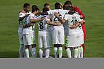 12.07.2017, Sportplatz, Zell am Ziller, AUT, TL Werder Bremen 2017 - FSP Werder Bremen (GER) vs Wolverhampton Wanderers (ENG), <br /> <br /> im Bild<br /> Mannschaftskreis Werder mit Thomas Delaney (Werder Bremen #6) Lamine San&eacute; / Sane (Werder Bremen #26)<br /> Max Kruse (Werder Bremen #10)<br /> Jiri Pavlenka (Werder Bremen #1)<br /> Lamine San&eacute; / Sane (Werder Bremen #26)<br /> Theodor Gebre Selassie (Werder Bremen #23)<br /> Robert Bauer (Werder Bremen #4)<br /> <br /> <br /> Foto &copy; nordphoto / Kokenge