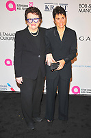 NEW YOKR, NY - NOVEMBER 7: Billie Jean King and Ilana Kloss at The Elton John AIDS Foundation's Annual Fall Gala at the Cathedral of St. John the Divine on November 7, 2017 in New York City. <br /> CAP/MPI/JP<br /> &copy;JP/MPI/Capital Pictures