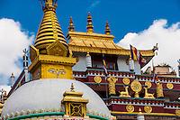 A Buddhist stupa in Kathmandu, Nepal.
