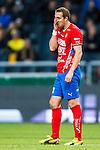 Solna 2013-09-30 Fotboll Allsvenskan AIK - &Ouml;sters IF :  <br /> &Ouml;ster 9 Kenny Pavey ser deppig ut<br /> (Foto: Kenta J&ouml;nsson) Nyckelord:  depp besviken besvikelse sorg ledsen deppig nedst&auml;md uppgiven sad disappointment disappointed dejected