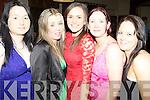 Members of Killeedy Camogie Club pictured last friday in The Devonn Inn, Templeglantine for their Annual GAA Social l-r, Sharon Roche, Laura Gilbourne, Tara Heirley, Paula Murphy and Deirdre Farrissey.