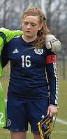 W U17 Belgi&euml; - Schotland :<br /> <br /> Erin Cuthbert<br /> <br /> Copyright Dirk vuylsteke / Loft6.be