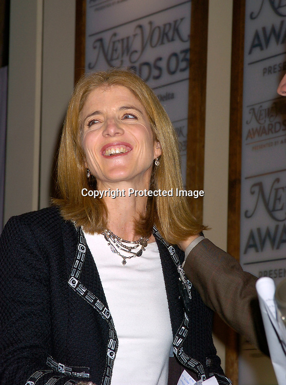 Caroline Kennedy..at the 2003 New York Magazine Awards on December 15, 2003 at the Four Seasons Restaurant . Photo by Robin Platzer, Twin Images