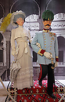 Mannequins of Archduke Franz Ferdinand and his wife Sofia in the Museum of the Assassination of Franz Ferdinand, built on the spot where, on the 28th June 1914, Gavrilo Princip assassinated Archduke Franz Ferdinand, an act which led to the outbreak of the First World War, Sarajevo, Bosnia and Herzegovina. Picture by Manuel Cohen
