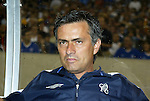 2 August 2004: Chelsea manager Jose Mourinho. AC Milan of La Liga in Italy defeated Chelsea of the English Premier League 3-2 at Lincoln Financial Field in Philadelphia, PA in a ChampionsWorld Series friendly match...