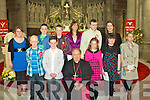 Foilmore N.S. students who made their confirmation in Cahersiveen on Friday last were front l-r, Stephen Cronin, Pierce Lynch, Bishop Bill Murphy, Blaithin Collins, Jessica Keating, Amanda Walsh. Back l-r Amy Golden, Mikey O'Grady, David O'Sullivan, Norah Golden(Principal), Ryan O'Sullivan & Ryan O'Sullivan(Class Teacher)