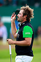 Victor DUBUISSON (FRA) in action during the final round of the 143rd Open Championship played at Royal Liverpool Golf Club, Hoylake, Wirral, England. 17 - 20 July 2014 (Picture Credit / Phil Inglis)