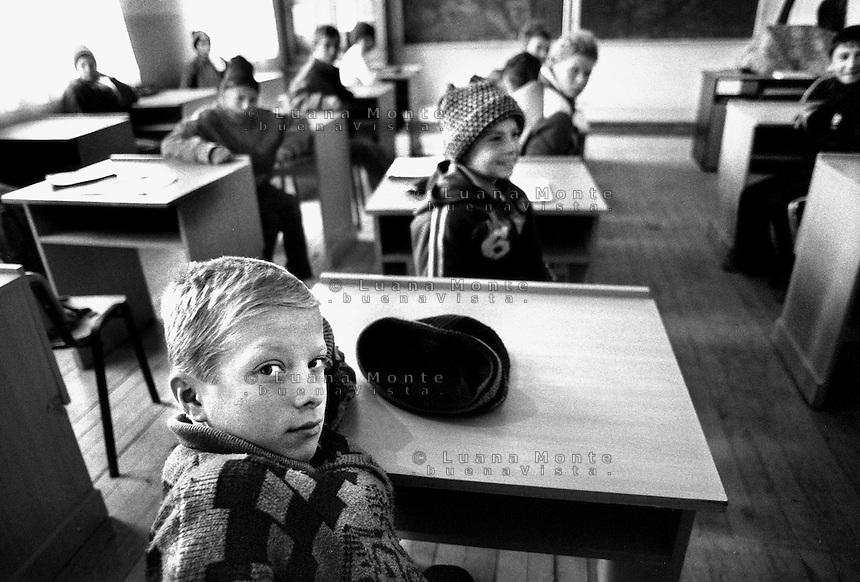 - Delta del Danubio, C.A. Rosetti, La scuola del villaggio..- Danube Delta Area, C.A. Rosetti. In the school of the village.....