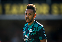 Pierre-Emerick Aubameyang of Arsenal pre match during the Premier League match between Watford and Arsenal at Vicarage Road, Watford, England on 16 September 2019. Photo by Andy Rowland.