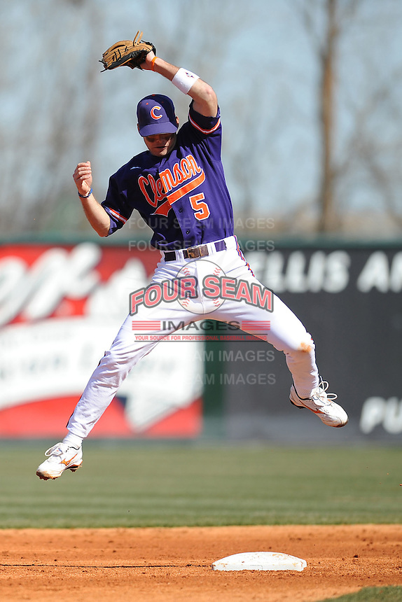 Mike Freeman (Second Baseman) Clemson Tigers (Photo by Tony Farlow/Four Seam Images)