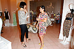September 10, 2009: Trina Turk at the 'Fashion's Night Out' event at her boutique in Los Angeles, California. Photo by Nina Prommer/Milestone Photo