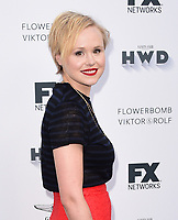 LOS ANGELES, CA - SEPTEMBER 16: Alison Pill arrives at the FX Networks and Vanity Fair 2017 Primetime Emmy Nominee Celebration at Craft LA on September 16, 2017 in Los Angeles, California. (Photo by Scott Kirkland/FX/PictureGroup)