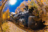 USA-Colorado-Cumbres & Toltec Scenic Railroad-Autumn