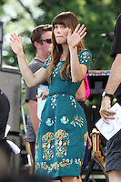 NEW YORK CITY, NY - AUGUST 3, 2012: Jessica Beil at Good Morning America discussing her new movie Total Recall. Central Park Rumsey playfield, New York City. &copy;&nbsp;RW/MediaPunch Inc. /NortePhoto.com<br />