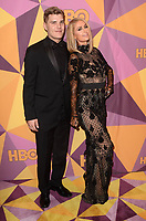 BEVERLY HILLS, CA - JANUARY 7: Chris Zylka, Paris Hilton at the HBO Golden Globes After Party, Beverly Hilton, Beverly Hills, California on January 7, 2018. <br /> CAP/MPI/DE<br /> &copy;DE//MPI/Capital Pictures