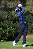 Laurie Canter (ENG) on the 5th tee during Round 3 of the Challenge Tour Grand Final 2019 at Club de Golf Alcanada, Port d'Alcúdia, Mallorca, Spain on Saturday 9th November 2019.<br /> Picture:  Thos Caffrey / Golffile<br /> <br /> All photo usage must carry mandatory copyright credit (© Golffile | Thos Caffrey)