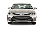 Car photography straight front view of a 2016 Toyota Avalon XLE 4 Door Sedan Front View