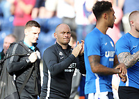 Preston North End manager Alex Neil applauds the fans at the final whistle<br /> <br /> Photographer Rich Linley/CameraSport<br /> <br /> The EFL Championship - Preston North End v Sheffield Wednesday - Saturday August 24th 2019 - Deepdale Stadium - Preston<br /> <br /> World Copyright © 2019 CameraSport. All rights reserved. 43 Linden Ave. Countesthorpe. Leicester. England. LE8 5PG - Tel: +44 (0) 116 277 4147 - admin@camerasport.com - www.camerasport.com