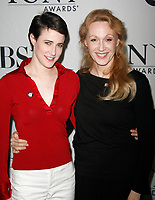 ***Jan Maxwell has passed away at the age of 61 after a long battle with cancer***<br /> ***FILE PHOTO***Xanthe Elbrick &amp; Jan Maxwell attending the 2007 Tony Awards Meet the Nominees Press Reception at the Mariott Marquis Hotel in New York City.<br /> May 16, 2007 <br /> CAP/MPI/WAL<br /> &copy;WAL/MPI/Capital Pictures
