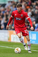 Calum Dyson of Grimsby Town during the Sky Bet League 2 match between Barnet and Grimsby Town at The Hive, London, England on 29 April 2017. Photo by David Horn.