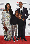 HOLLYWOOD, CA - NOVEMBER 09: Producer Charles D. King (R) and family attend the screening of Netflix's 'Mudbound' at the Opening Night Gala of AFI FEST 2017 presented by Audi at TCL Chinese Theatre on November 9, 2017 in Hollywood, California.