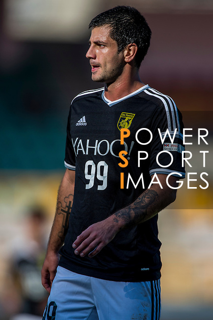 Aleksandar Randelovic of Sun Pegasus FC looks on during the HKFA Premier League between Wofoo Tai Po vs Sun Pegasus at the Tai Po Sports Ground on 22 November 2014 in Hong Kong, China. Photo by Aitor Alcalde / Power Sport Images