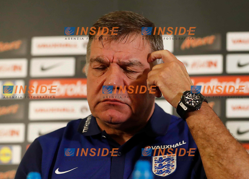 Britain Football Soccer - England - Sam Allardyce Press Conference - St. George&iacute;s Park - 29/8/16<br /> England manager Sam Allardyce during the press conference<br /> Foto Panoramic / Insidefoto <br /> ITALY ONLY