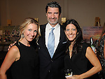 From left: Jade Shine, Einar Suter and Jenny Suter at the Una Notte in Italia event at the Westin Galleria Hotel Friday Nov. 07, 2014.(Dave Rossman photo)