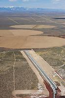 Rail staging facility, Blanca, Colorado. April 2010