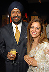 Jag and Pinder Gill at the Arts of India Gallery launch party at the Museum of Fine Arts Houston Thursday May 14,2009.(Dave Rossman/For the Chronicle)