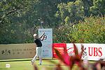 Sam Brazel of Australia tees off the 9th hole during the 58th UBS Hong Kong Golf Open as part of the European Tour on 10 December 2016, at the Hong Kong Golf Club, Fanling, Hong Kong, China. Photo by Marcio Rodrigo Machado / Power Sport Images