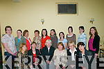 CHEERS: Attending.the Fashion.Course in the Ring.of Kerry Hotel in.Cahersiveen on.Sunday last,