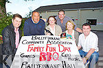 Ballyfinnane Community Association committee members who are holding a family fun day on the hall on Sunday 17th June l-r: Pete O'Connor, Chris Millard, Ann Marie Griffin, Tomas O'Connor, Eileen Daly and James Lynch
