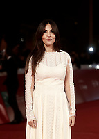 posa sul red carpet per la presentazione del film &quot;The Place &quot; durante la Festa del Cinema di Roma, 2 novembre 2017.<br /> poses on the red carpet to present the movie &quot;The place&quot; during the international Rome Film Festival at Rome's Auditorium, November 2, 2017.<br /> UPDATE IMAGES PRESS/Isabella Bonotto