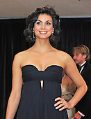 Morena Baccarin arrives for the 2013 White House Correspondents Association Annual Dinner at the Washington Hilton Hotel on Saturday, April 27, 2013..Credit: Ron Sachs / CNP.(RESTRICTION: NO New York or New Jersey Newspapers or newspapers within a 75 mile radius of New York City)