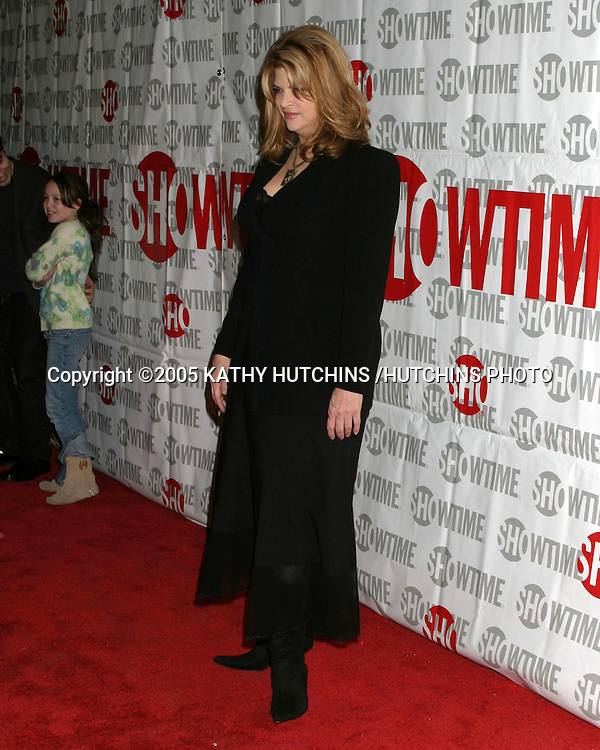 ©2005 KATHY HUTCHINS /HUTCHINS PHOTO.TELEVISION CRITICS TOUR - SHOWTIME PARTY.UNIVERSAL CITY, CA.JANUARY 12, 2005..KIRSTIE ALLEY.