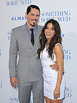 Sarah Shahi and Steve Howey at The Warner Bros. Pictures World Premiere of Something borrowed held at The Grauman's Chinese Theatre in Hollywood, California on May 03,2011                                                                               © 2010 Hollywood Press Agency