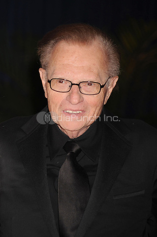 Larry King arrives at the White House Correspondents' Association Dinner in Washington, DC. May 1, 2010. Credit: Dennis Van Tine/MediaPunch