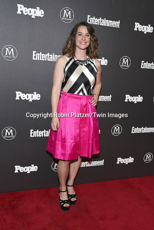 Ashley Williams attends the Entertainment Weekly &amp; PEOPLE Magazine New York Upfronts Celebration on May 16, 2016 at Cedar Lake in New York, New York, USA.<br /> <br /> photo by Robin Platzer/Twin Images<br />  <br /> phone number 212-935-0770