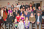Key to the Door: Deirdre Heaslip, Spa Road, Tralee (seated 3rd left) who celebrated her 21st birthday on Saturday night in the Kerins O'Rahillys GAA clubhouse, Strand Rd., Tralee with her parents Liam and Deirdre, also enjoying themselves were her special grandparents Liam & Noreen of St Brendans Pk along with many family and friends..