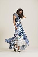Diane von Furstenberg<br /> at New York Fashion Week<br /> Spring Summer 2019<br /> in New York, USA September 2018.<br /> CAP/GOL<br /> &copy;GOL/Capital Pictures
