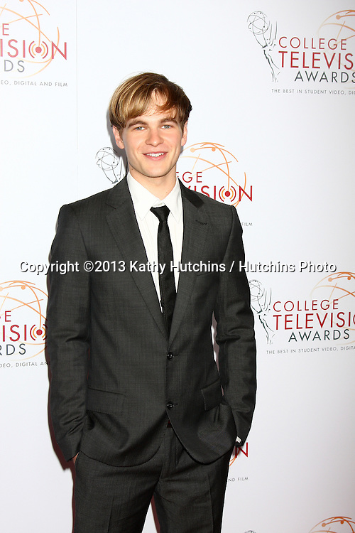 LOS ANGELES - APR 25:  Graham Patrick Martin arrives at the 2013 College Television Awards at the JW Marriott on April 25, 2013 in Los Angeles, CA