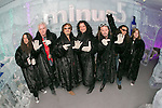 "Minus 5 Ice Bar in the Monte Carlo creates specialty Celebrity Cocktail honoring rock legends of Raiding The Rock Vault with their signature drink ""Chaos on the Rocks""."